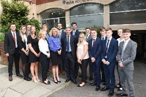 Lancaster accountancy firm welcomes 17 new trainees