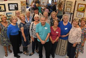 South Ribble Artists holding their fifth annual Macmillan Coffee Morning and Art Exhibition.