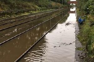 Flooding at Culcheth Farm