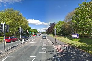 A bad crash has closed the A6 in both directions this evening. Pic: Google