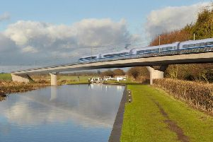 An impression of how HS2 might look