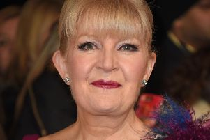 Cathy Shipton at the National Television Awards 2017