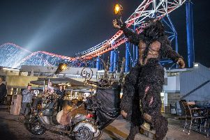 "Blackpool Pleasure Beach is hosting a ""Fangtastic"" event this month (Blackpool Pleasure Beach)"