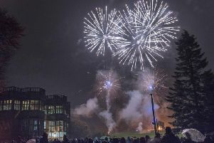 Fireworks at Astley Hall (Photo: Martin Birchall/Chorley Council)