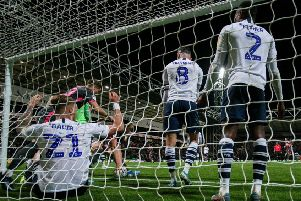 Leeds scored in the 87th minute at Deepdale on Tuesday night