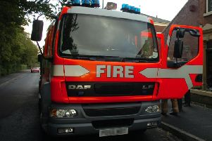 Three fire engines attended the incident.