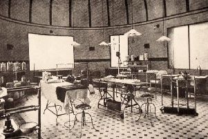 An Edwardian operating theatre
