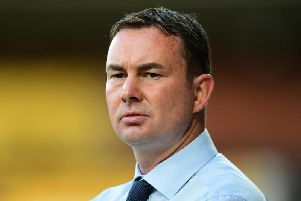 Derek Adams is the new Morecambe manager