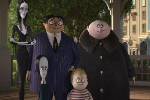 Now showing: The Addams Family