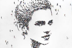 US artist Craig Alan created this artwork of Emma Watson to highlight the most influential women over 60 years - from research conducted by Avon