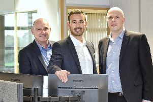The Mortgage Experience team: Andrew Morrison, Shaun Evans, and Alistair Jameson