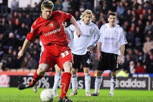 Neil Mellor scores in the closing minutes from the spot as PNE win 4-1 in the FA Cup.