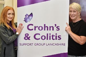 Victoria Danson (left) and Alison Davis, Senior Manager of Goldcare, the group's sponsor.