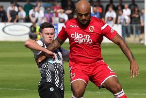 Courtney Meppen-Walter is one of a number of players within Chorley's camp struggling with illness