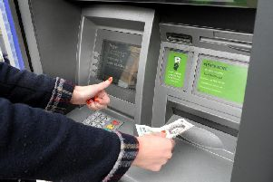 You could apply for a loan or chat to a mortgage adviser at cash machines under new plans.