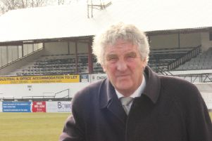 Chorley chairman Ken Wright pictured at Victory Park