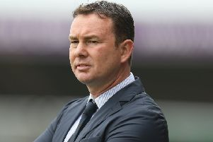 Morecambe manager Derek Adams      Picture: Getty Images
