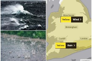 More wind and rain is forecast to hit the region today