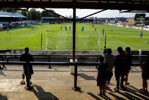 Chorley FC's historic home, Victory Park