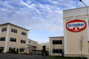 Production will be ramped up at the Dr. Oetker plant in Leyland