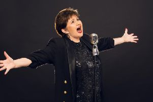 Denise Nolan, who is currently touring with a unique tribute of her own in The Music of Judy Garland.