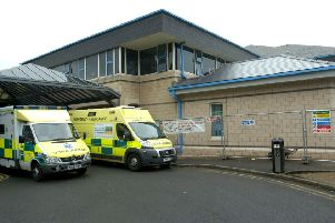 The Accident and Emergency Unit at the Royal Lancaster Infirmary.