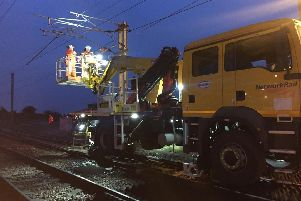 Engineers are still working on damage to the overhead lines at Hest Bank which is impacting services between Lancaster and Oxenholme and the wider West Coast Mainline network