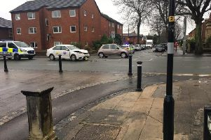 The crash involved a taxi and a Nissan Micra