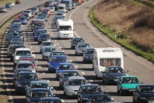 The M6 in Lancashire