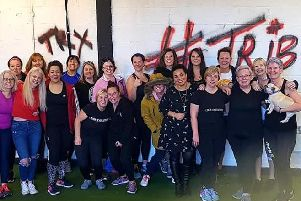 TeamRevolution in Preston has raised funds for Minds RED January initiative by holding a coffee and cake sale and encouraging people to get active.