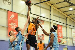Kadeem Crabbe in action at Manchester Magic (Photo: Mansoor Ahmed)