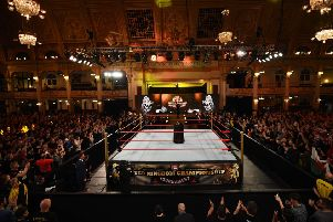WWE juggernaut rolls into Blackpool for historic show