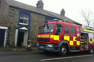 Fire crews were called to Fleet Street Lane in Ribchester