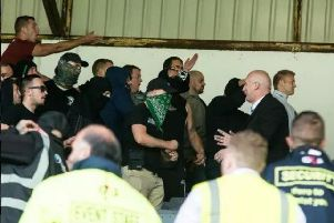 Police appeal after Lancashire soccer match violence
