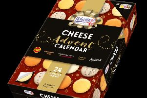 Advent calendar swaps chocs for…. CHEESE