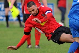 Longridge Town's Jordan Tucker