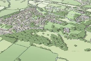CGI of the Ellel Artisan Village. Image courtesy of developers MCIP.