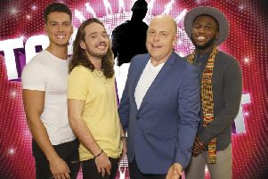 Sean is 2nd from right'Photo: ITV