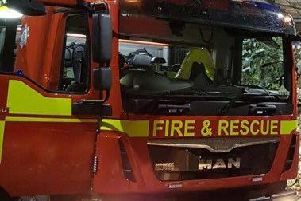 Firefighters were called to a chip pan fire at a second floor flat in Chorley
