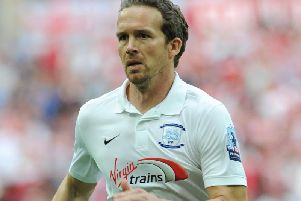 Kevin Davies in action during his Preston days