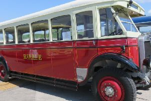 Take a trip on a bus like this at Morecambe Vintage Bus Day
