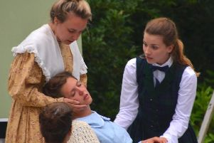 Little Women, at Lytham Hall. The death of Beth