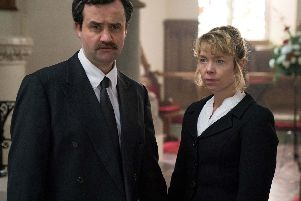 Daniel Mays and Anna Maxwell Martin play Colin and Wendy Parry in a new drama about the Warrington bomb