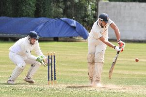 John Simpson hit an unbeaten 27 in Longridge's win over Croston