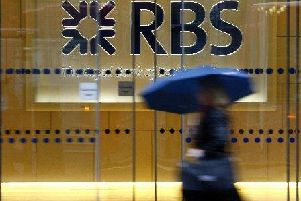 Royal Bank of Scotland is closing 54 branches.