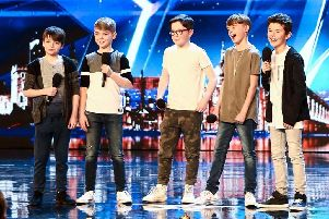 Bring It North on Britain's Got Talent earlier this year