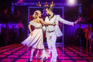 Kate Parr and Richard Winsor star in Saturday Night Fever