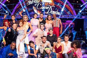 Last Saturday's Strictly Come Dancing stars line up