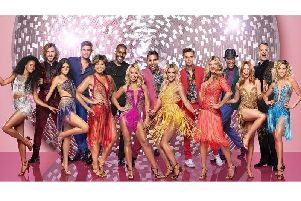 Strictly Come Dancing stars get set to shine at Blackpool Tower Ballroom