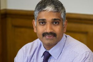 Dr Sakthi Karunanithi is warning about future health problems in Lancashire